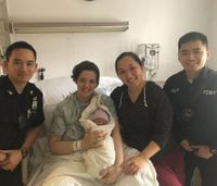 First responder brothers team up to deliver baby in Times Square