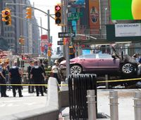 Car plows into Times Square crowd; 1 dead, 22 hurt