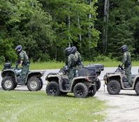Items recovered from a cabin might be linked to escaped convicts