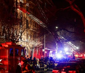 "Fire Commissioner Daniel Nigro said firefighters saved some people, but ""this loss is unprecedented."" (Photo/AP)"