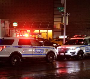 That long, droning police and ambulance siren that has become part of the soundtrack of New York City for generations could be changing. A pair of city lawmakers has proposed switching to the high-low, European-style wail heard on the streets of London and Paris. (AP Photo/Frank Franklin II)