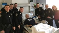 NYPD officers help save elderly tourist in cardiac arrest