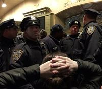 Protests erupt after decision on NY in-custody death