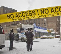 2 NYPD officers shot, 2 suspects arrested