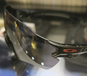 Oakley's new eyewear expands marksman's field of view