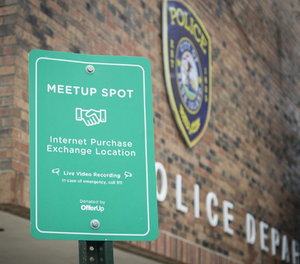 OfferUp's Law enforcement Outreach Program creates a safe meeting place for local commerce. (photo/OfferUp)