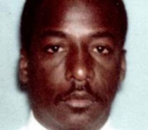 Houston Police Officer Elston Morris Howard, who was killed by death row inmate Robert Jennings in 1988 during a robbery at an adult bookstore. Jennings was put to death by lethal injection on January 30, 2019 (Photo/ Houston Police Department)
