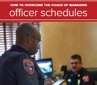 White paper: How to overcome the chaos of managing officer schedules