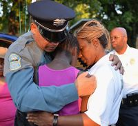 Ferguson police, community grieve 9-year-old shot, killed in home