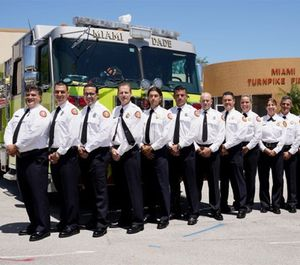 The company officer is one part supervisor, one part instructor and one part risk manager. (Photo/courtesy www8.miamidade.gov)