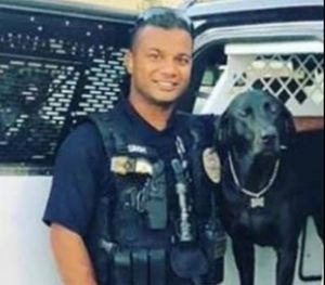 The suspect is wanted in the shooting death of a Newman Police Cpl. Ronil Singh, 33 (Photo/ Stanislaus County Sheriff's Department)