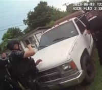 Texas police release video of fatal OIS of armed man inside truck