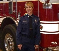 Husband of firefighter who died by suicide wants chief to resign