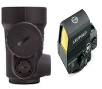 2 different approaches for AR-15 optics from Leupold and Trijicon