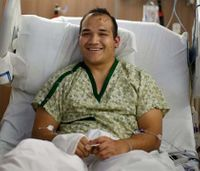 Injured fire Lt. thrown up to 20 feet in Ore. gas blast