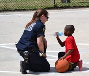 Late summer outreach might focus on child safety as the school year begins. (Photo/City of New Orleans)