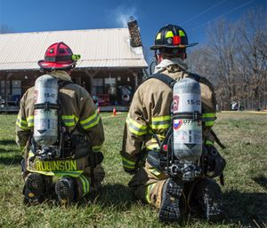 "No matter what rank a firefighter might be, observe and think also lends itself to the ""what if"" game. (Photo/Joe Thomas of Greenbox Photography)"