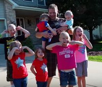 Ill. firefighter, single dad of 7, receives holiday surprise