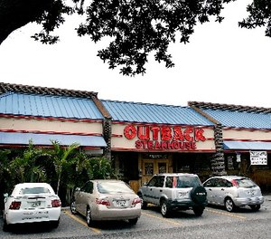 An Outback Steakhouse is shown Tuesday, June 5, 2007, in Brandon, Fla. (AP Photo/Chris O'Meara)