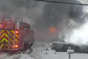 When we are working in the snow, remember that we will be exerting extra effort to combat the obstacle that has fallen before us (Photo/courtesy https://www.usfa.fema.gov/current_events/020719.html)