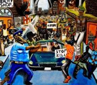 Congressman: Painting in US Capitol tunnel will remain, despite criticism from cops