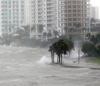 'Pray for everybody': Irma begins its assault on Florida