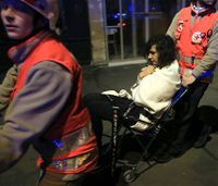How responders handled 302 patients from Paris HTV terrorist attacks
