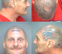 Fla. football fan with unique tattoo jailed on drugs charge