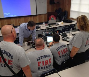 Being able to show growth through your ePCR's data can help you to maintain that level of professional accountability that your stakeholders expect. (Photo/Leesburg Fire Rescue)