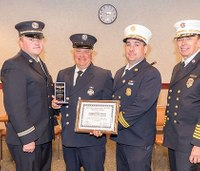 NY volunteer firefighter awarded Medal of Valor