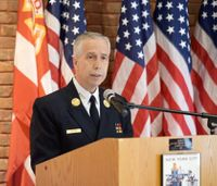 First fire chief to respond to 9/11 attacks is last to retire