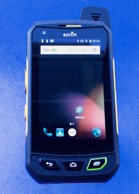 The new Sonim XP7 handset: Capabilities that cops will appreciate on duty