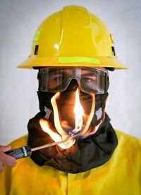 (HS-2 Wildland Firefighter Face Mask)