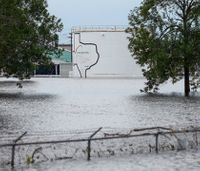 2 explosions rock flooded Houston-area chemical plant