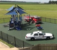 La. playground showcases first responder vehicles