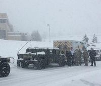 Pa. authorities guide ambulance through blizzard