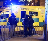 Report: Firefighters kept away from Manchester bombing