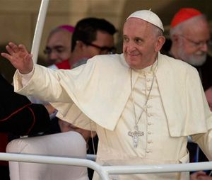 Pope Francis will visit the U.S. on Tuesday. (AP Photo/Ramon Espinosa)