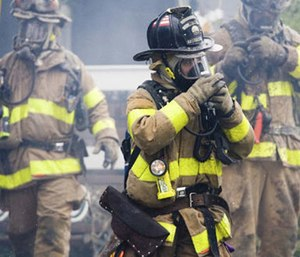 Advanced cleaning means taking gear out of service and performing a thorough cleaning of the item. (Photo/Fire Chief)