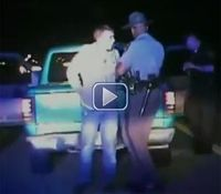 Video: Man sues police after hit in eye with ECD prong