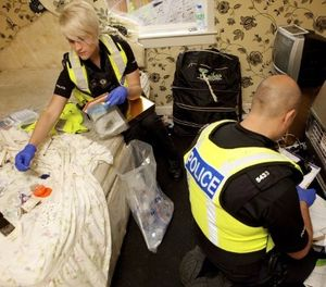 First responding officers are critical to any property crime investigation. (Photo/West Midlands Police via Flickr)