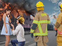 Fire department refuses mutual aid call to help with 'viral' marriage proposal