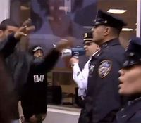 Off-duty cop assaulted by protesters during NYC march