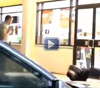 Video: Calif. cop TASERs unruly man armed with knife