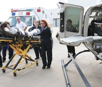Kan. hospital partners with air ambulance service to increase pediatric ALS