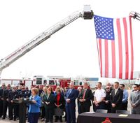 NM governor signs PTSD measure for firefighters into law