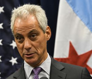 "Mayor Rahm Emanuel said he wanted to add ""at least"" five more ambulances in an effort to reduce response times. (Photo/AP)"