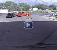 Video: NM man shot to death after violent vehicular rampage