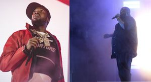 Hip Hop artists Meek Mill, left, and Killer Mike, right (Photo/ AP)