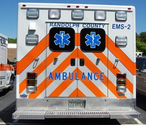 Randolph County Emergency Medical Services wants to convert from 24-hour to 12-hour shifts for its ambulance crews. (Photo/Facebook)